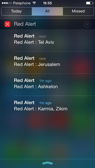 "Red Alert: Israel sends notifications about airstrikes and has partnered with Yo to ""yo"" subscribers, too."