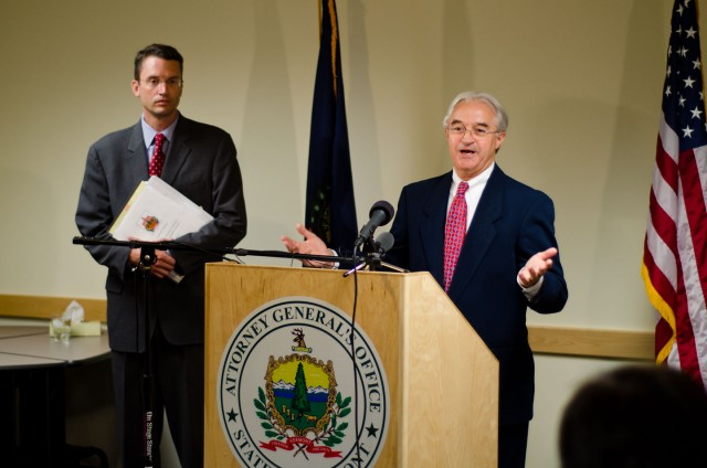 Vermont Attorney General William Sorrell in 2012.
