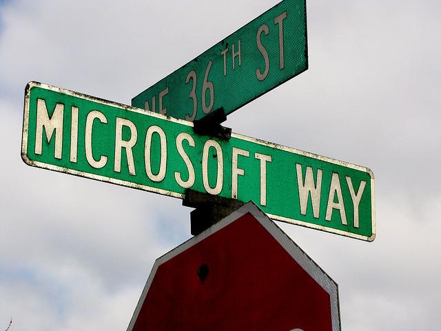 The Microsoft Way? Top-down, waterfall-ish.