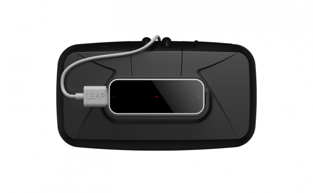 The new Leap Motion VR Developer Mount lets you attach a Leap Motion Controller to the front of an Oculus Rift DK1 or DK2 and turn your hands into gloveless VR gloves.