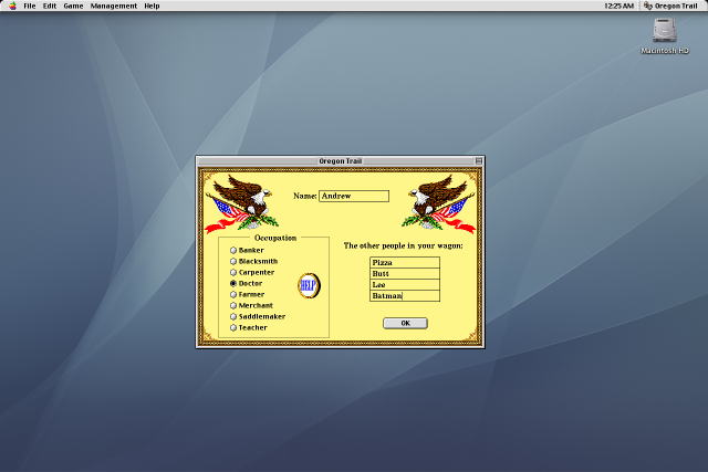 My coworkers made me use Mac OS 9 for their (and your