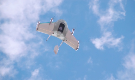 Report: Google developing product delivery service via drones