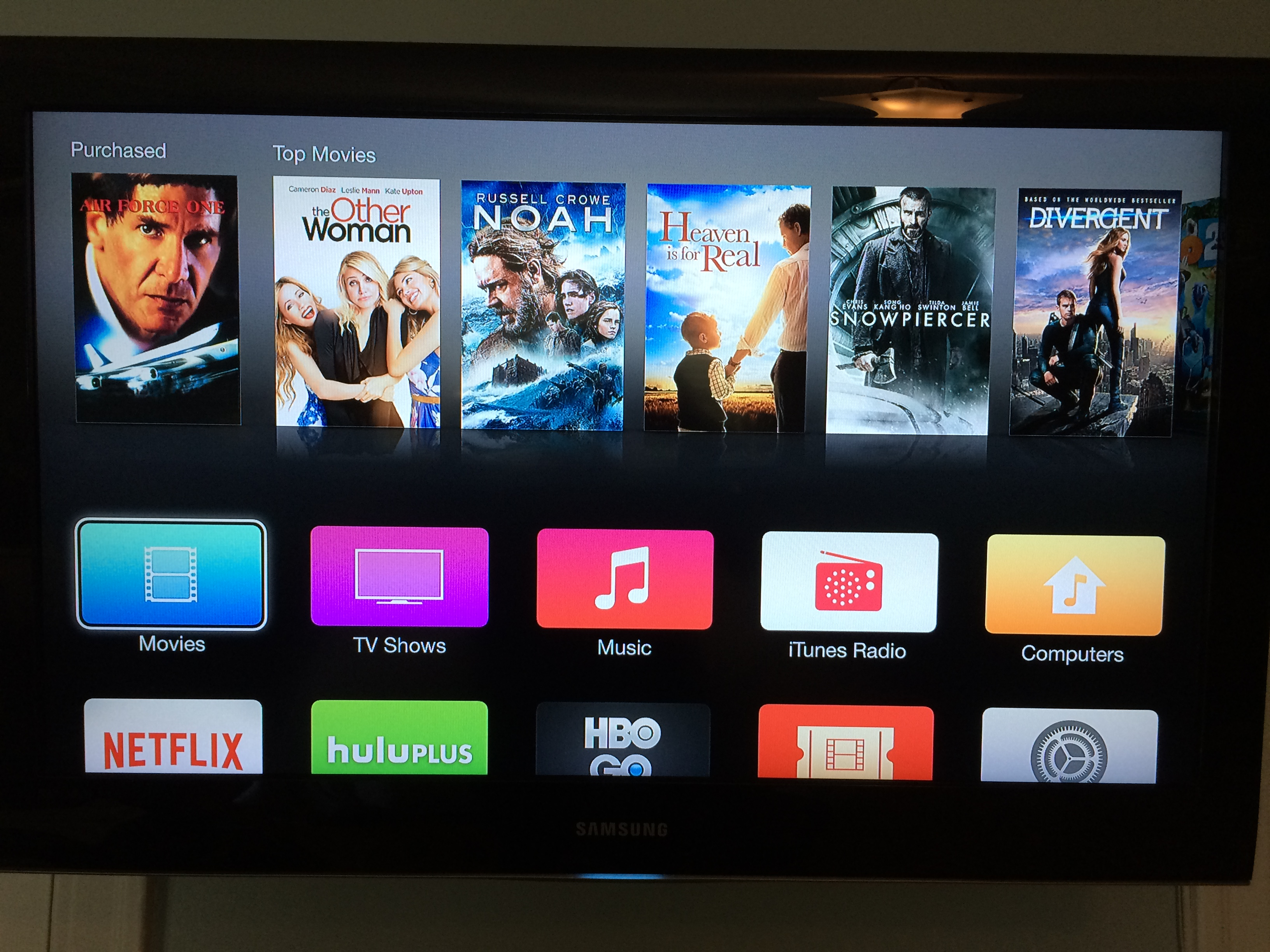 Image Result For Apple Tv Settings