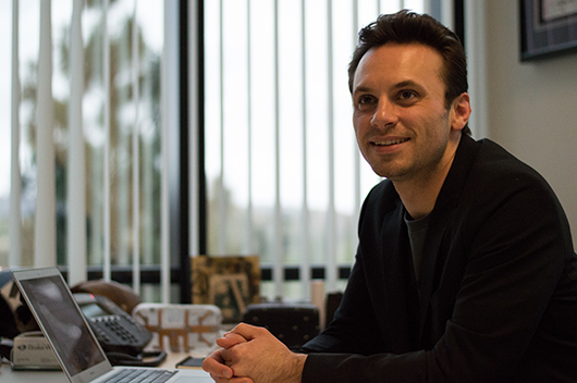 Oculus CEO Brendan Iribe.