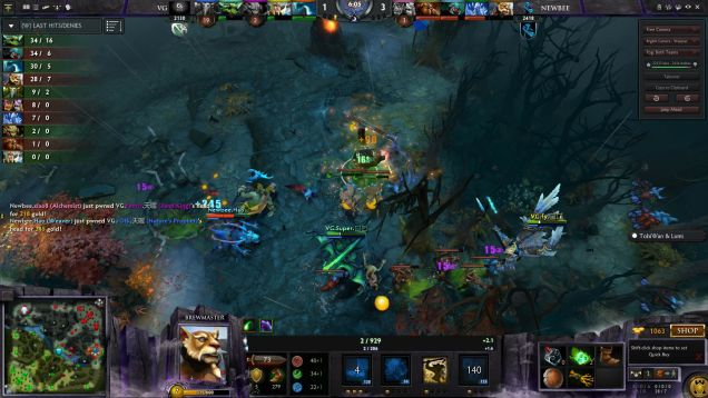 If you don't understand what's going on here, Valve's Newcomer's Stream wants to help.