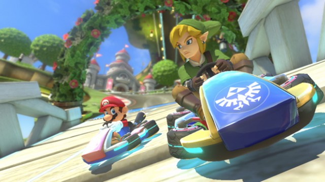 Nintendo embraces paid DLC with two Mario Kart 8 track packs