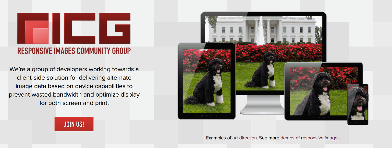 The Responsive Images Community Group website.