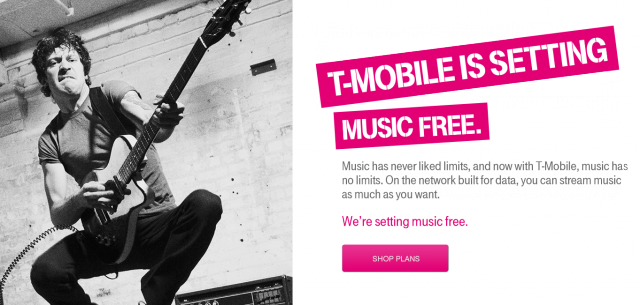 T-Mobile exempts Grooveshark, Rdio from data caps—Google Music is next