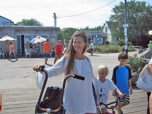 Tara McBride of Fire Island.