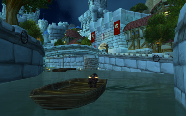 The <i>World of Warcraft</i> isn't usually <i>this</i> empty, but it's getting there...