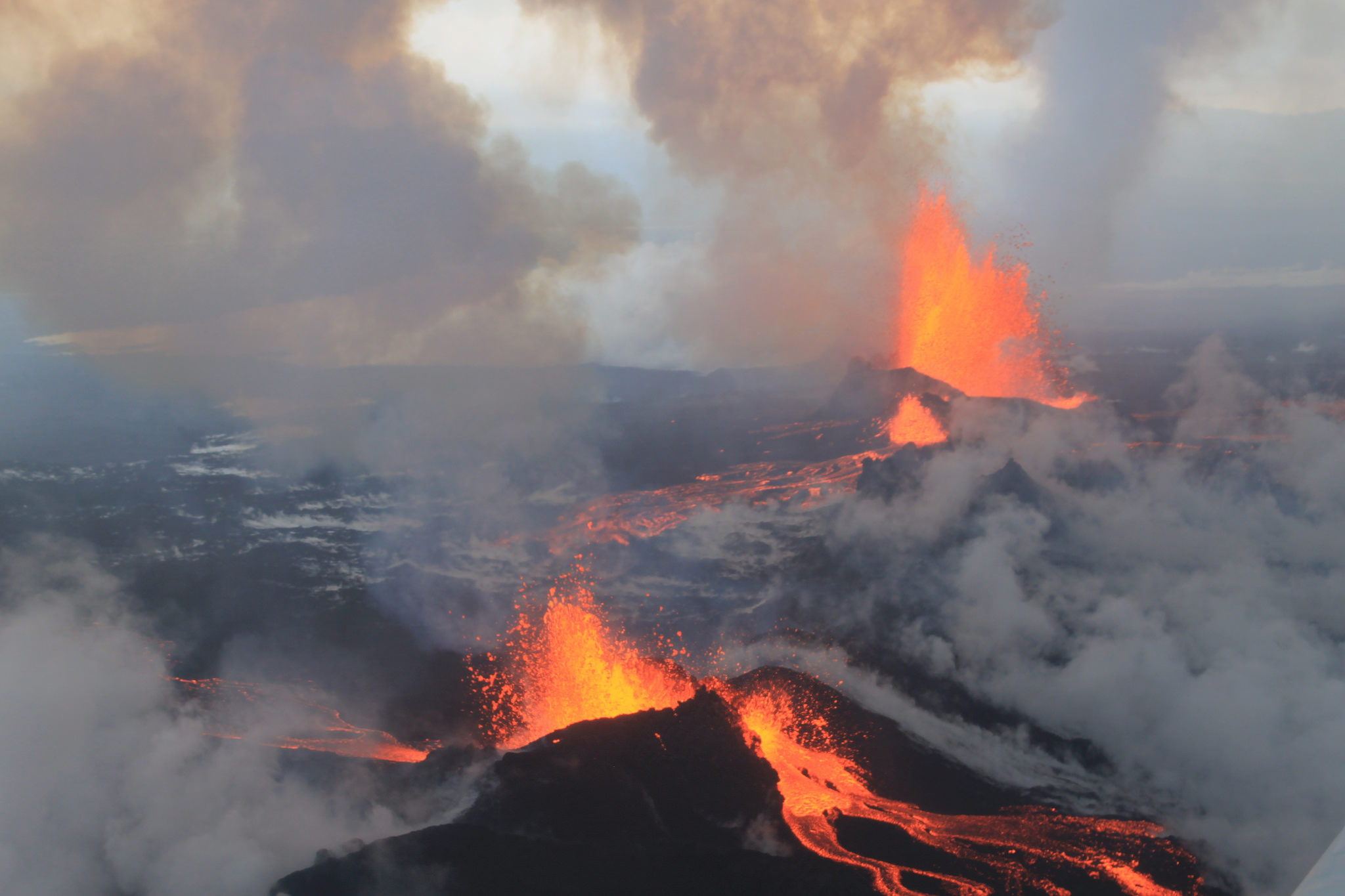 The present and future of Iceland's volcanic eruption