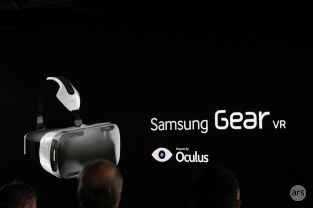 Samsung reveals virtual reality headset powered by a smartphone