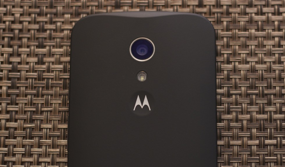 The new Moto G's camera.