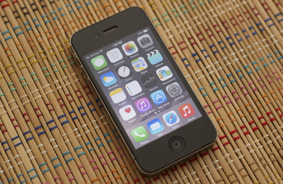 The iPhone 4S. I remember when this was the one that made my old phone feel slow.