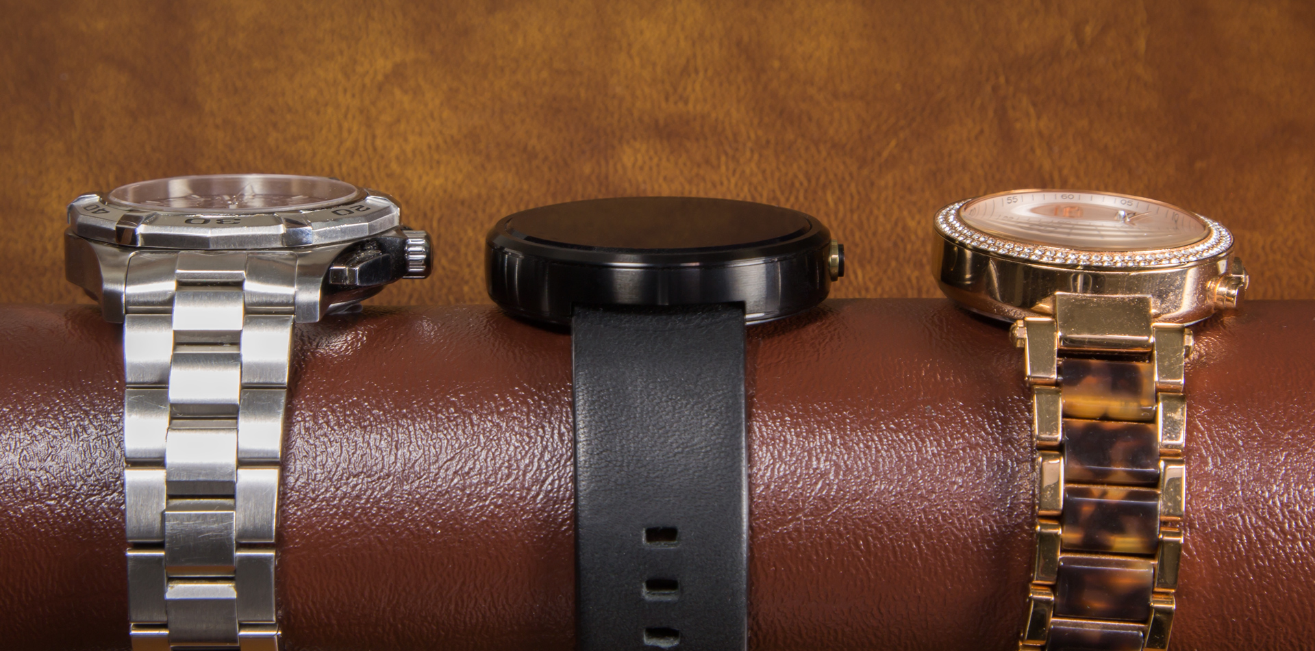 The thickness is well within the standard set by other watches.