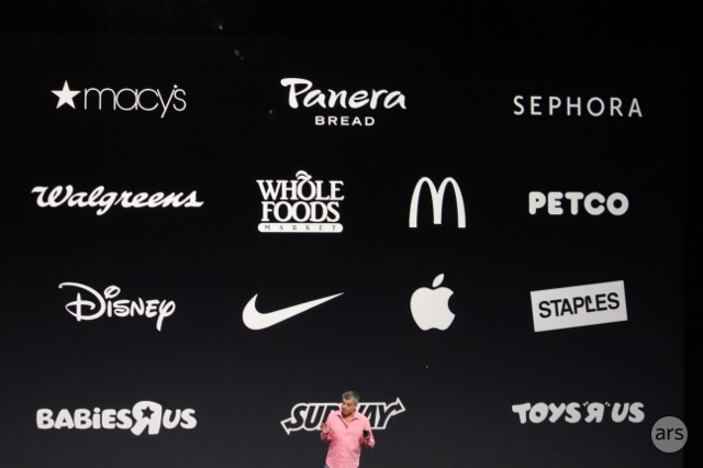 Retailers are already poised to support Apple Pay.