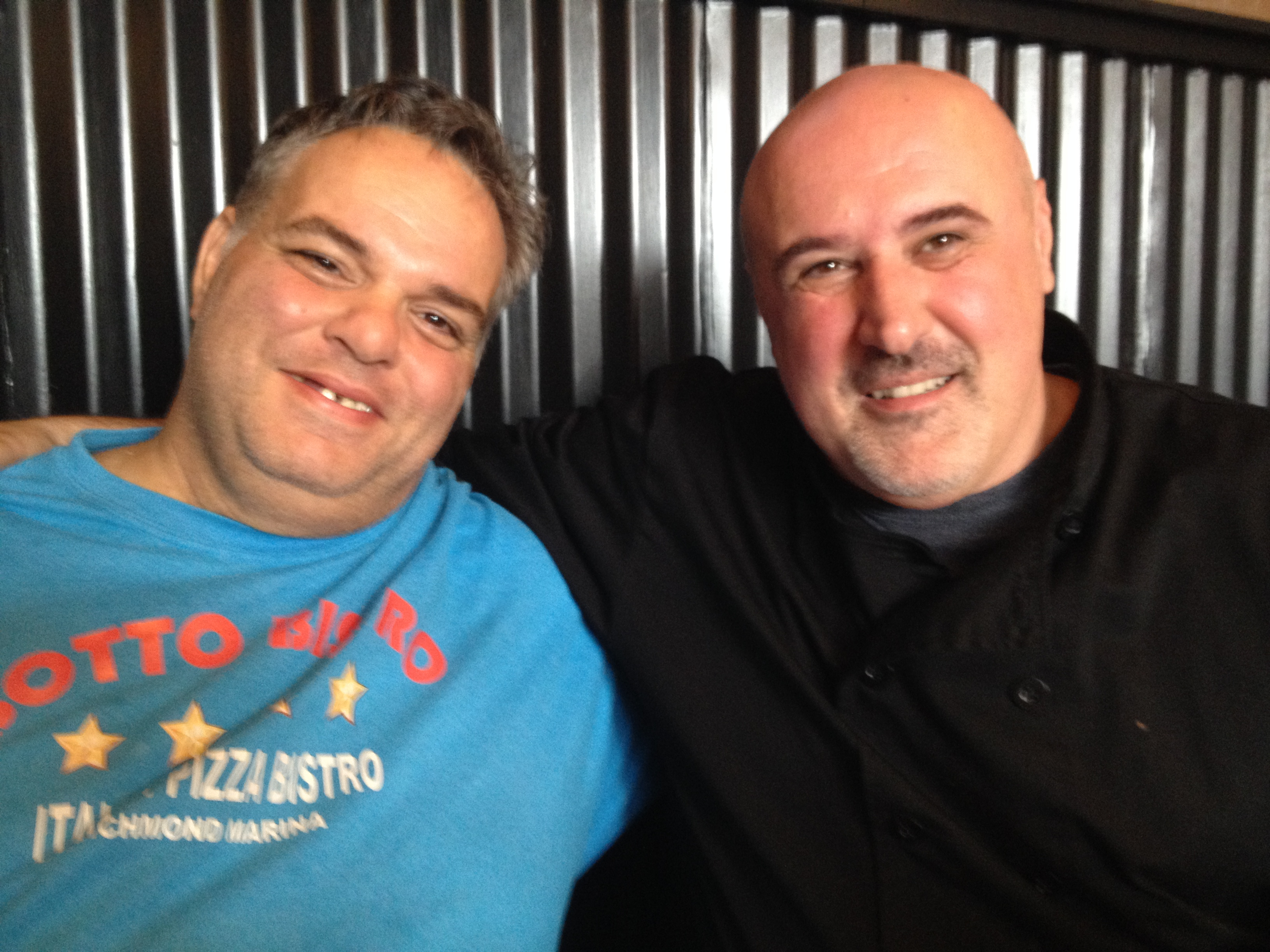 Davide Cerretini (right) and Michele Massimo are the co-owners and chefs at Botto Bistro.