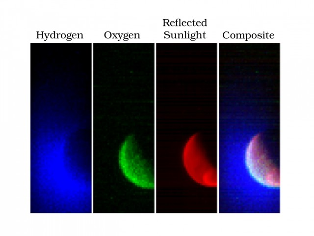 MAVEN's fist images of the Martian atmosphere.
