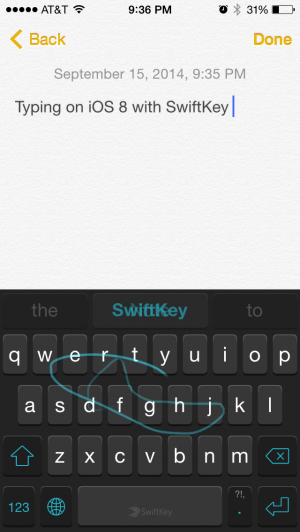 Wonder of wonders, third-party keyboards have come to iOS!