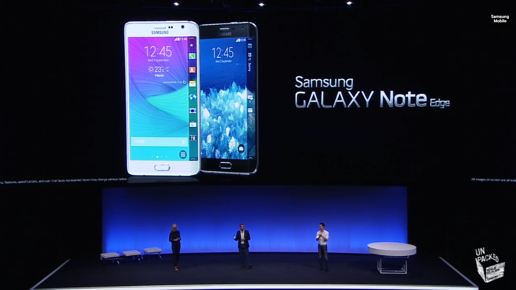 Samsung announces the Galaxy Note 4 and new Galaxy Note Edge