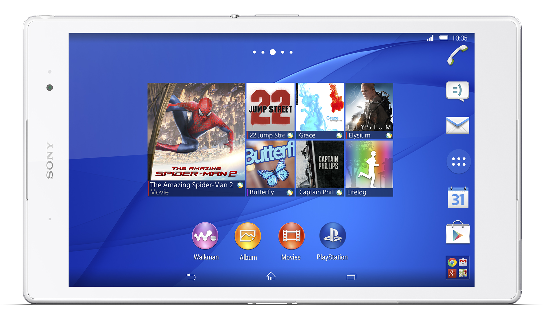 The Sony Xperia Z3 Tablet Compact.