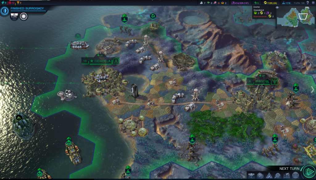 Equal parts familiar and unfamiliar, for a <i>Civ</i> fan.