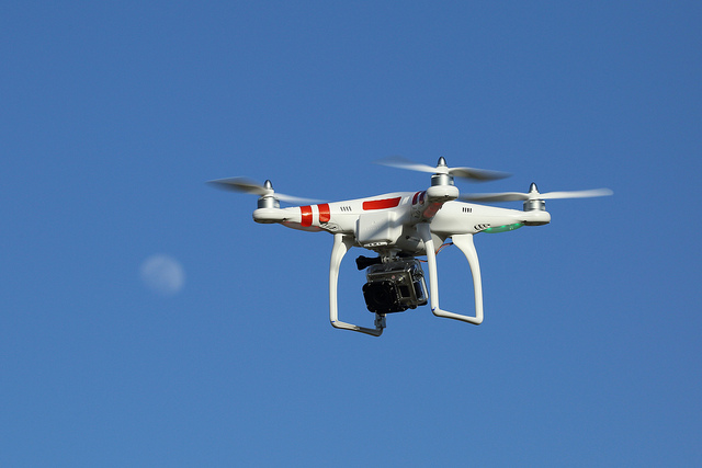 Pepper-spraying drones will be used on Indian protesters