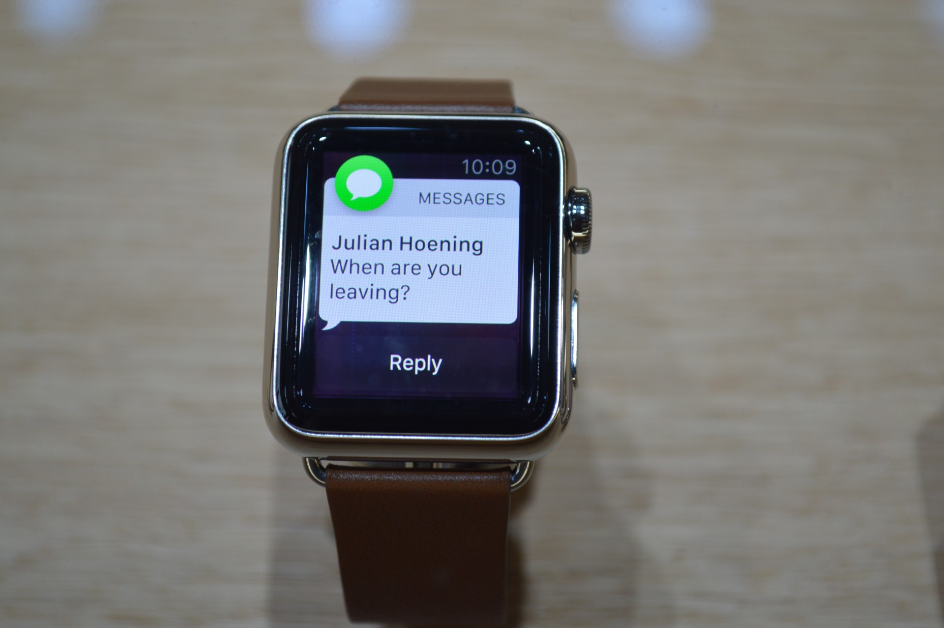 The Apple Watch leans on phone integration and exists partly to deliver notifications to your wrist, same as Android Wear.