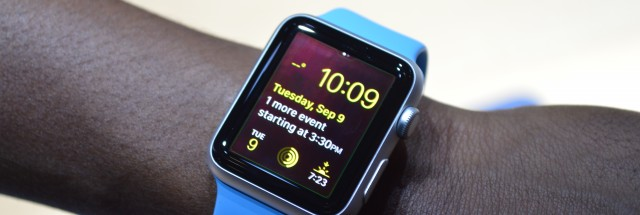 photo image The Apple Watch may support third-party watch faces in the future
