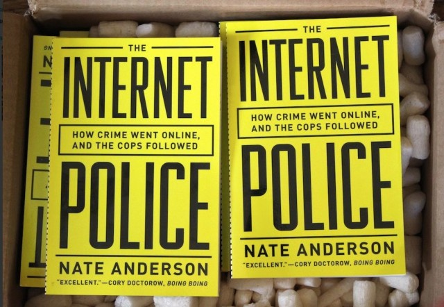 My book, The Internet Police, now out in snazzy paperback edition