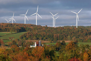 New York, one of the RGGI states, has nearly two Gigawatts of installed wind capacity.