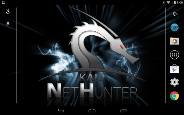 Free to download, ready to customize, NetHunter puts the power of a pen-tester's Linux desktop on a Nexus phone or tablet.