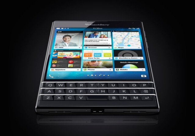 BlackBerry's square-screened Passport launches today for $599