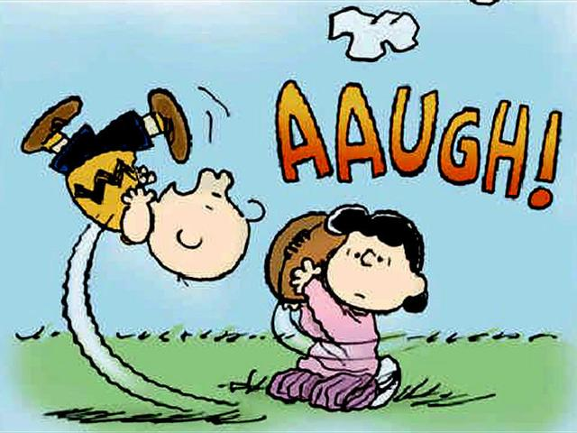 Just as Lucy pulls the ball away from Charlie Brown, the NFL takes broadcasts away from fans.
