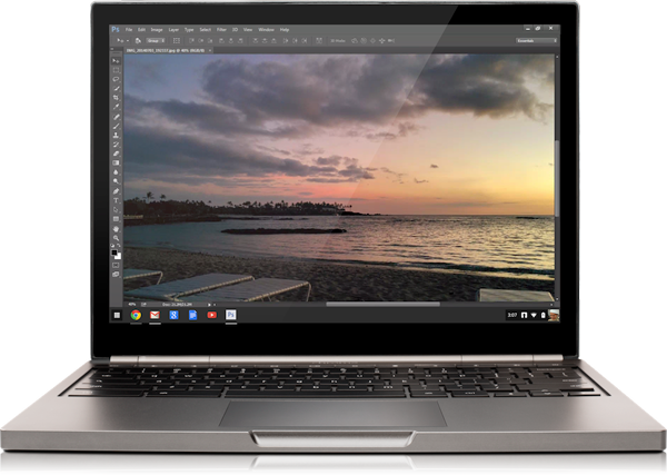 "Adobe brings ""streaming"" Photoshop to Chrome OS"
