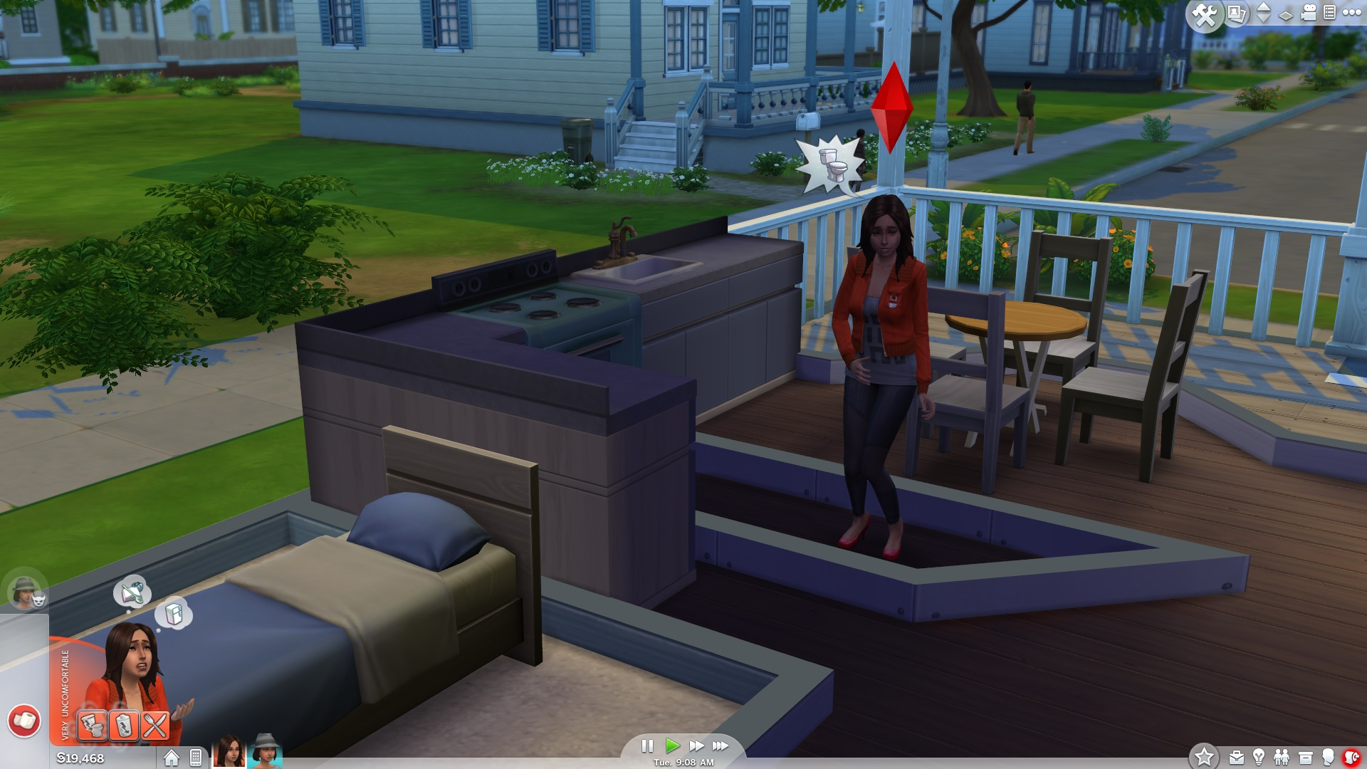 The Sims 4 review Halfway house