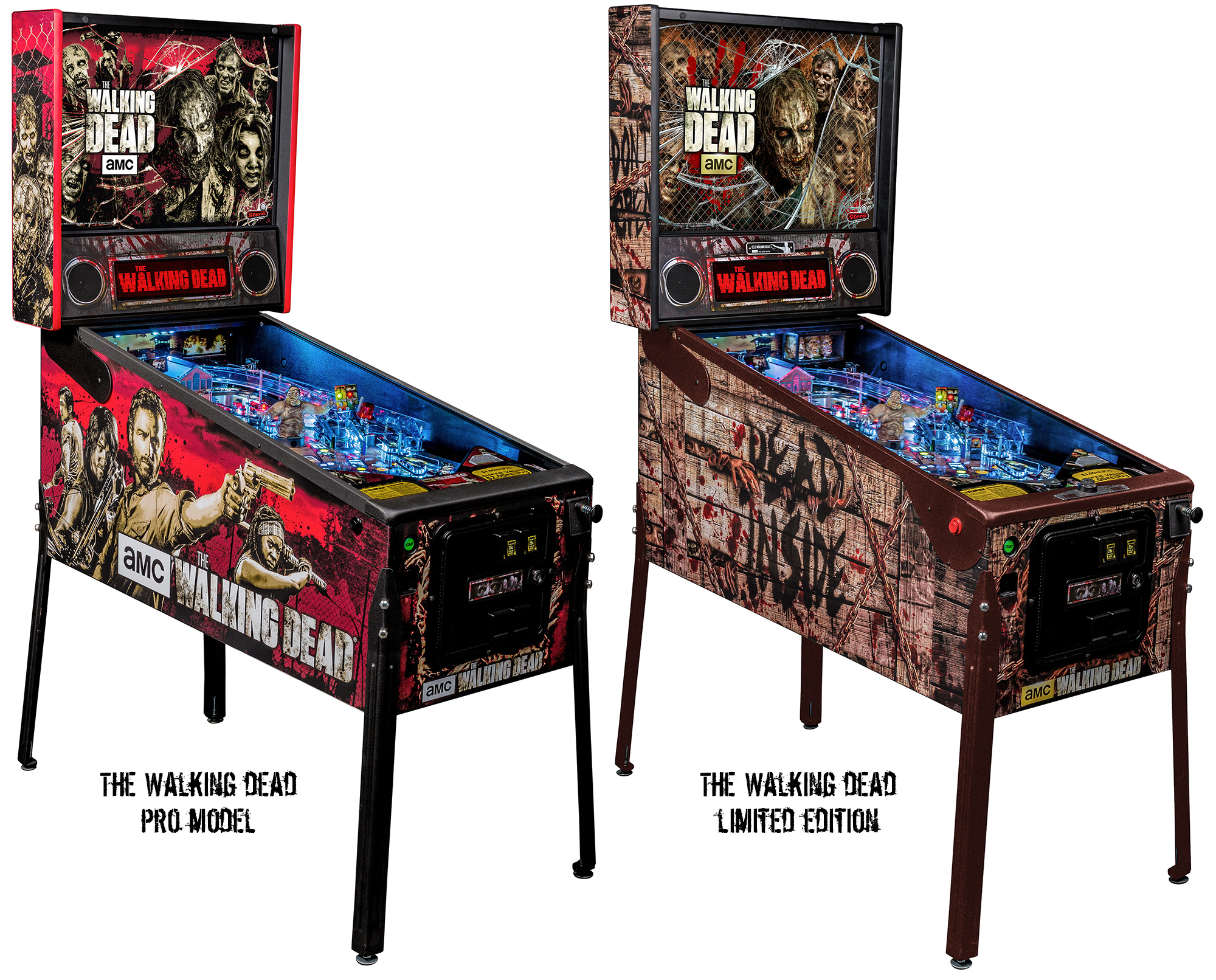Got bit, fever hit: The Walking Dead pinball shambles into