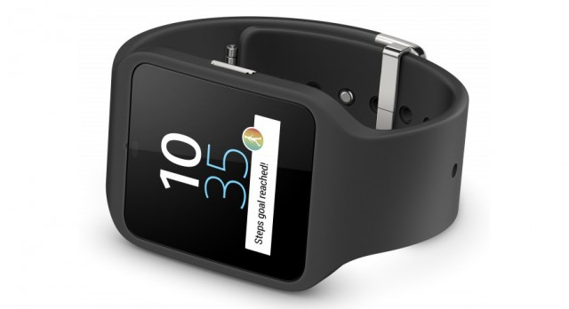 The Sony SmartWatch 3—the only Android Wear device with a GPS chip.
