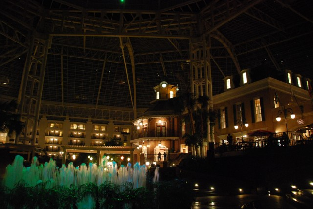 The Gaylord Opryland hotel in Nashville, Tennessee used to block guests' personal hotspots.