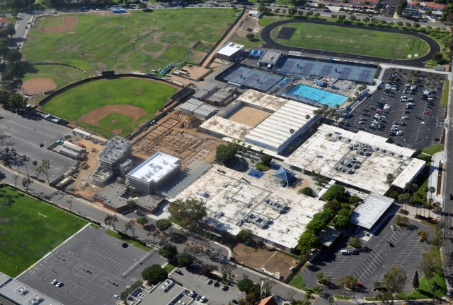 Corona del Mar High School in Newport Beach, California.
