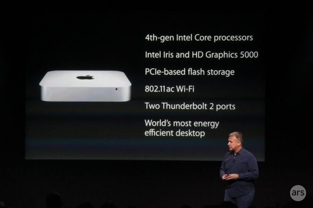 Mac mini gets a refresh with Haswell processors, $100 price drop