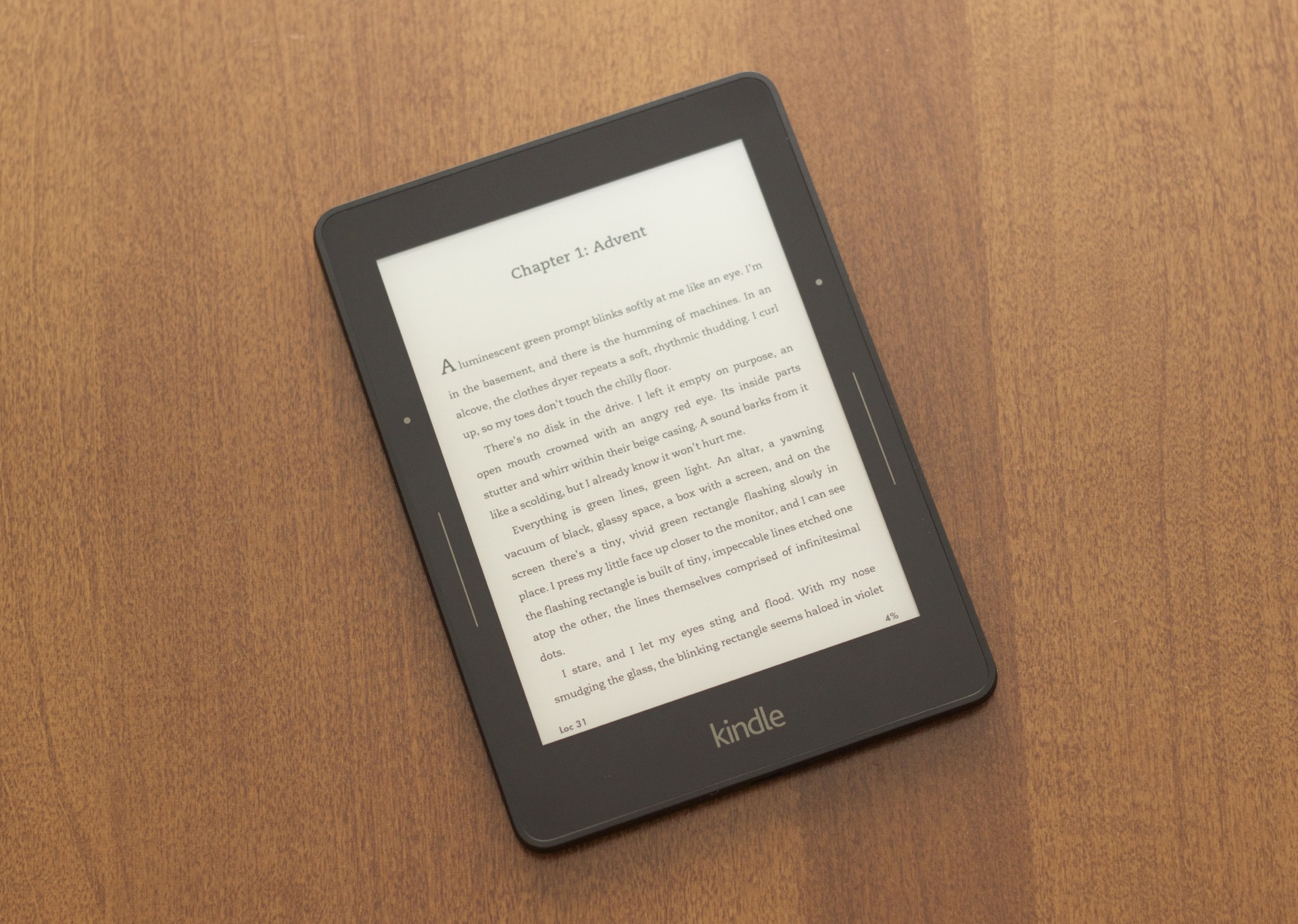 The Kindle Voyage.