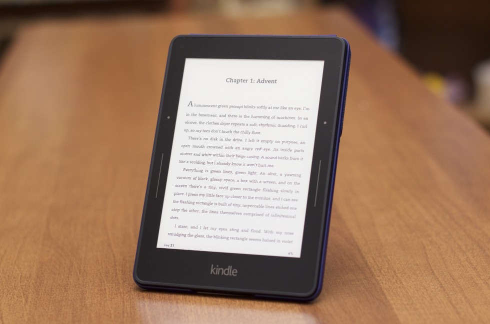 The Kindle Voyage is an excellent (but expensive) e-reader.