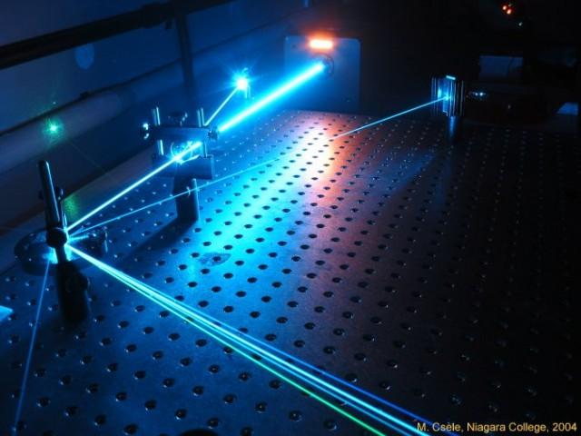 Worsen a laser to improve it