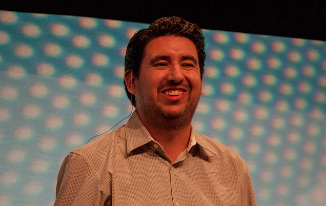Markdown co-creator John Gruber at Webstock 2013.