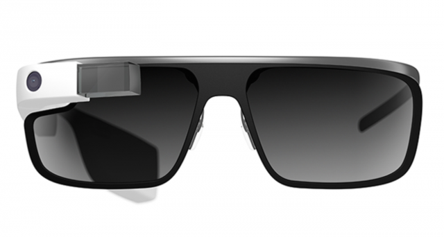 Google Glass integrated into a pair of cool shades.