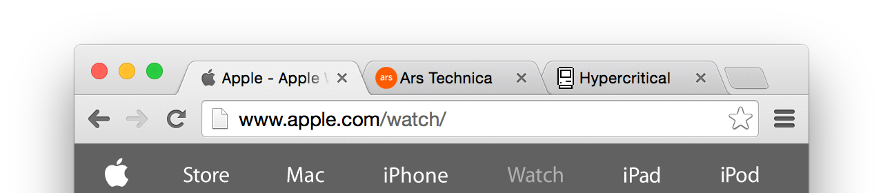 Chrome's attempt to preserve draggable area at the top of the window.