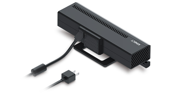 Look, a wall plug! That's new for Kinect v2 as of this week.