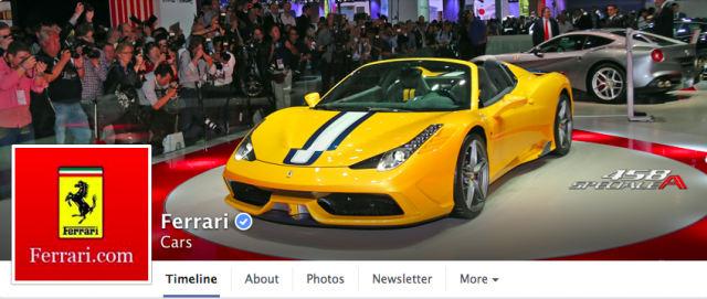 Ferrari hit with lawsuit for taking over Facebook fan page
