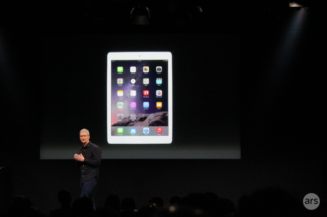 Apple announces TouchID-equipped, 6.1 mm-thick iPad Air 2 and new iPad Mini 3
